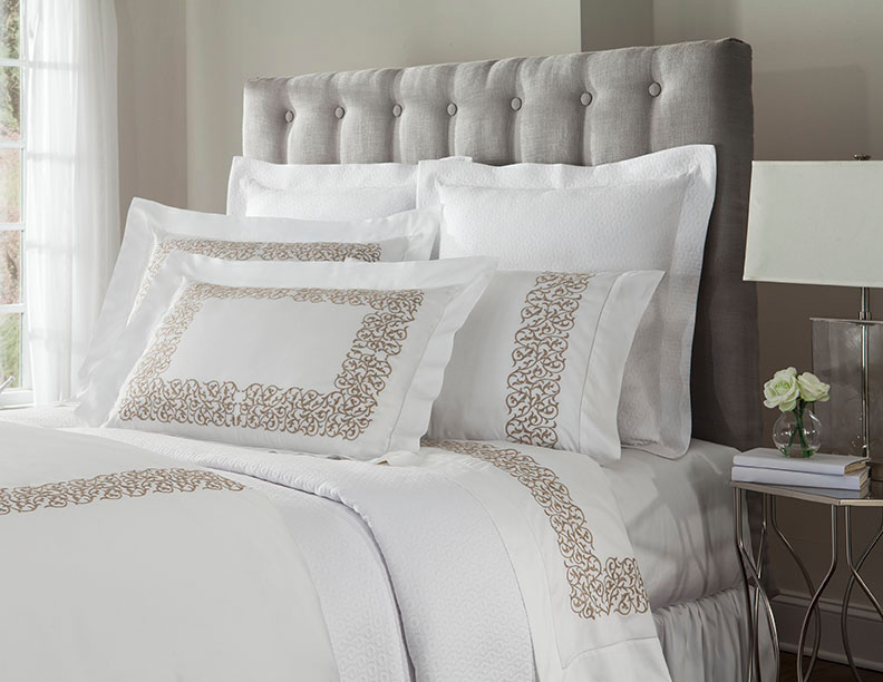 Home Treasures Bedding Jasmine Embroidered Collection