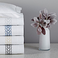 Home Treasures Linens Links - Embroidered Bedding