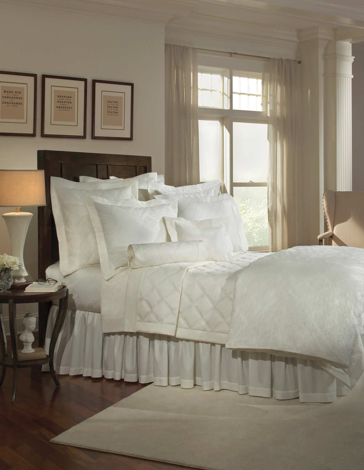 Home Treasures Luciana Quilted Bedding Collection