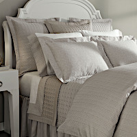 Home Treasures Linens Mayfair Bedding -  Italian Jacquard