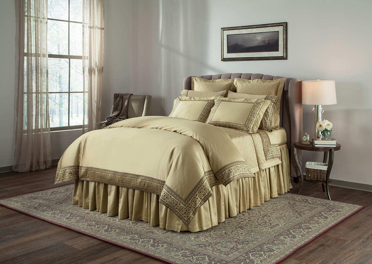 Home treasures bedding milano sheeting collection for Milano bedding