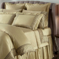 Home Treasures Milano Bedding & Sheeting Collection - A collection that consists of a 600 thread count, 100% Egyptian cotton, Itclass=