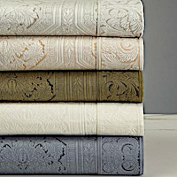 Home Treasures Olympia Matelasse - A 100% Egyptian cotton, Italian matelasse, resembling a 19th Century design.