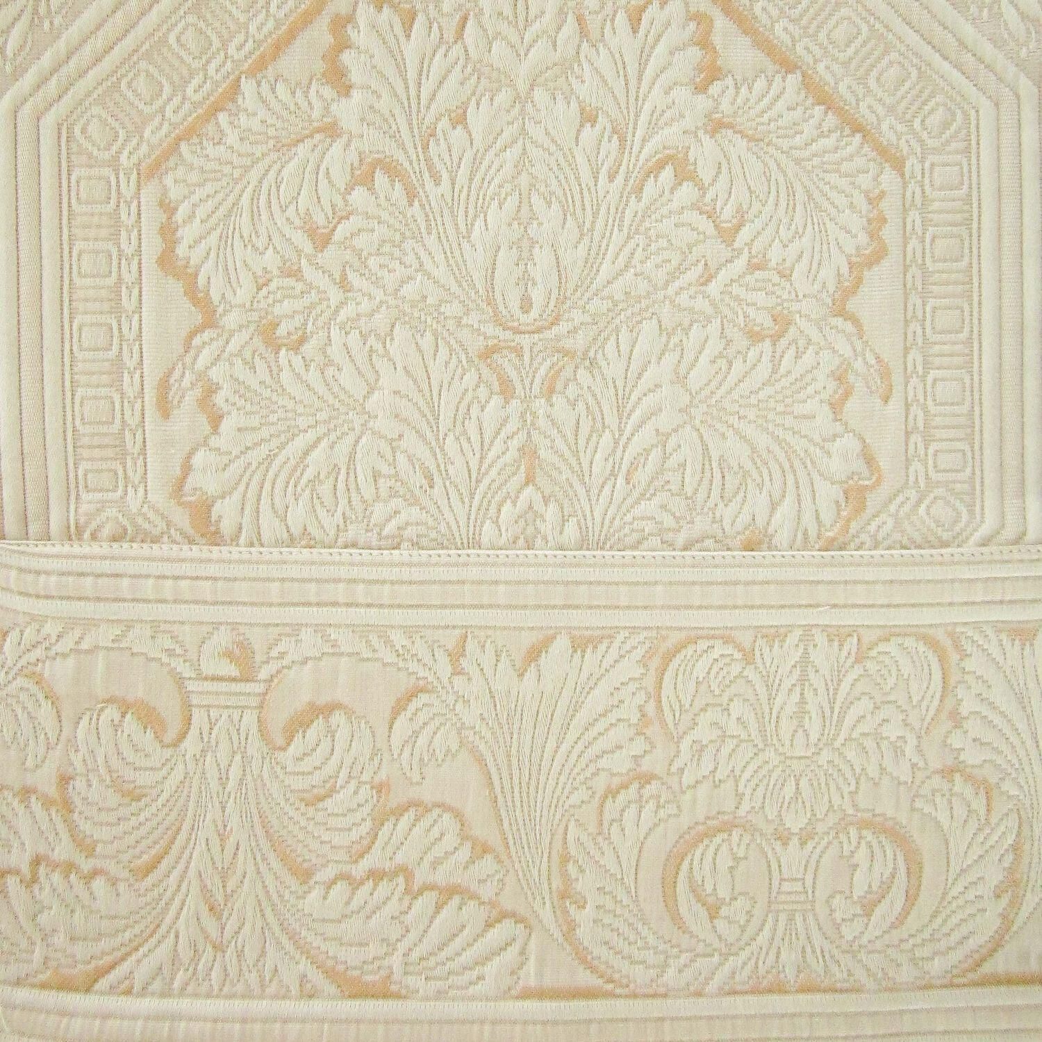 bed products paisley ivory bedspread bedding progressive cotton small jacquard matelasse