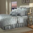 Home Treasures Orchid Bedding - A 600 thread count, 100% Egyptian cotton, Italian jacquard collection, consisting of Floral, Rafclass=