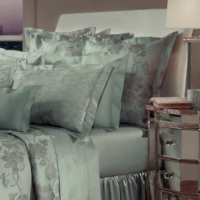Home Treasures Bedding Orchid Jacquard Collection