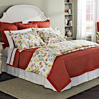 Home Treasures Linens Poppies Bedding