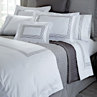 Home Treasures Linens Stella - Embroidered Bedding