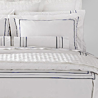 Home Treasures Linens Triad - Embroidered Bedding