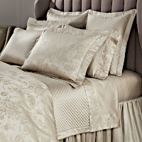 Home Treasures Bedding Victoria - A 600 thread count, 100% Egyptian cotton, Italian jacquard collection, consisting of allover Fclass=