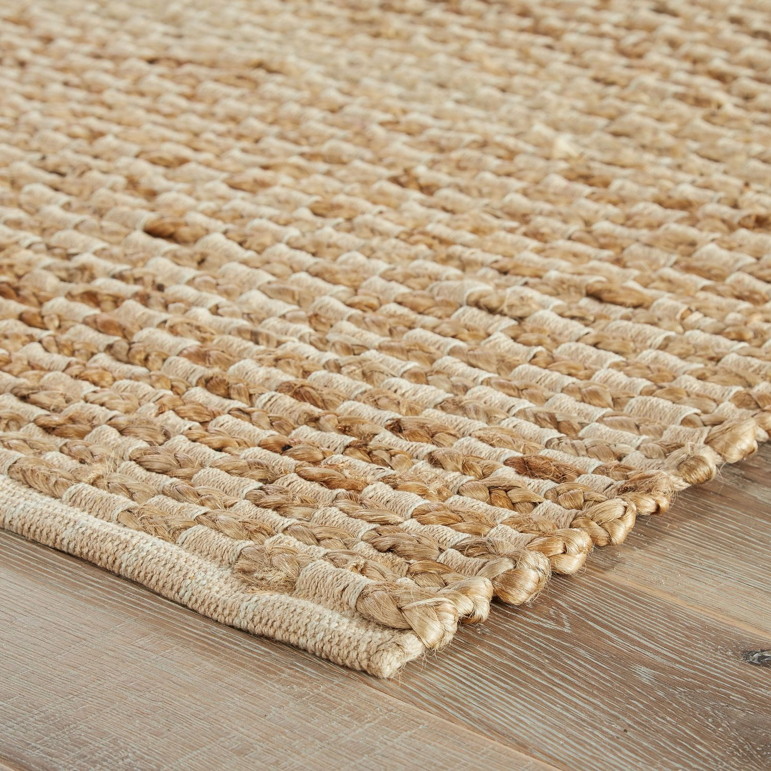 Jaipur Living Rugs Ad02 Andes Collection 80 Jute 20 Cotton Rug
