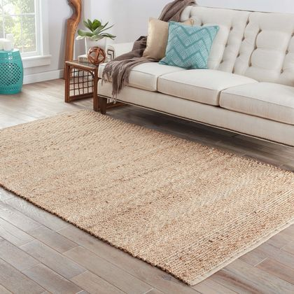 Jaipur Living Rugs AD02 - Andes Collection 80% Jute 20% Cotton Rug