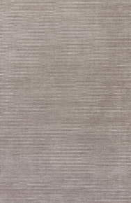 This sleek hand-loomed area rug boasts a lustrous tone-on-tone gray colorway with texture-rich stripes creating a ridged high-low feel. In a soft combination of wool and viscose, this neutral accent lends versatile style to modern homes.