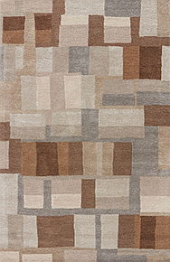 Boasting a modern design inspired by global patterns, this bold area rug offers geometric interest to any space.