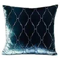 Kevin O'Brien Studio Arches Velvet  Decorative Pillow