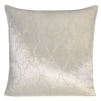 Kevin O'Brien Studio Arches Velvet Dec Pillows - Knotted White