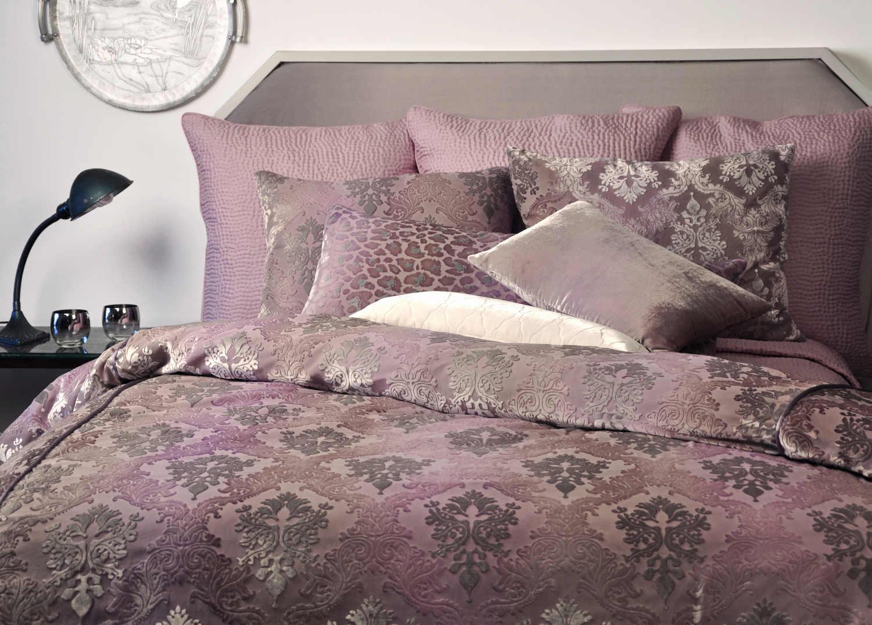 *Kevin OBrien Studio Bedding - Brocade Iris Velvet Bedding