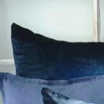Kevin O'Brien Studio Ombre Solid Velvet Dec Pillows - Casablanca