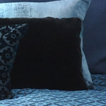 Kevin O'Brien Studio Mohair Tuxedo Pillow - Casablanca