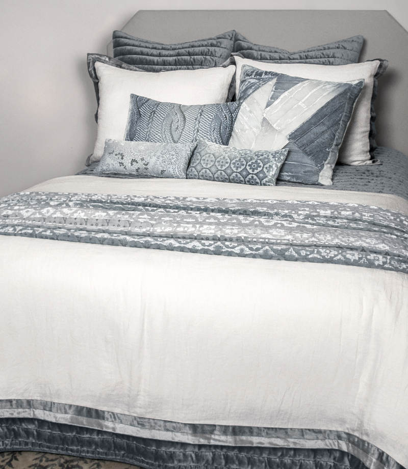 Kevin OBrien Studio Channel Velvet Bedding View