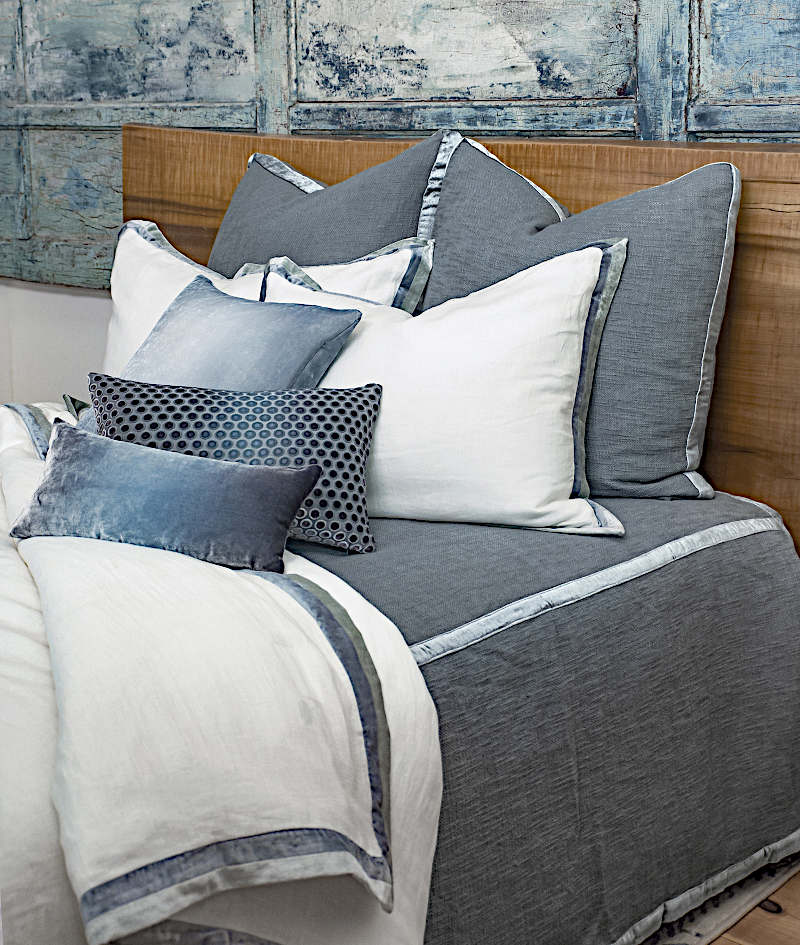 Kevin OBrien Studio Chunky Knit Woven Bedding