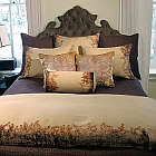 Kevin O'Brien Studio Bedding - Ferns Embroidered Bedding