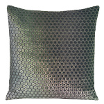 Kevin O'Brien Studio Dots Velvet Dec Pillow - Knotted Sage