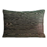 Kevin O'Brien Studio Woodgrain Velvet Dec Pillows - Knotted Sage