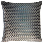 Kevin O'Brien Studio Dots Velvet Dec Pillow - Knotted Sterling