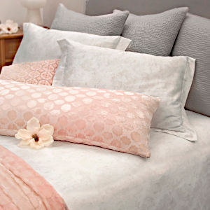 Kevin OBrien Studio Bedding - Henna Cotton Beige Coverlet Collection