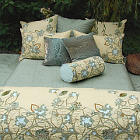 Kevin O'Brien Studio Bedding - Hydrangea Embroidered Bedding