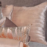 Kevin O'Brien Studio Ophelia Opal Velvet Pillows & Shams