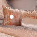 Kevin O'Brien Studio Metallic Willow Velvet Dec Pillows - Ophelia Opal