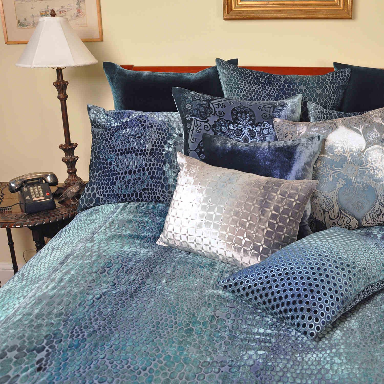Kevin Obrien Studio Bedding Snakeskin Shark Velvet Bedding