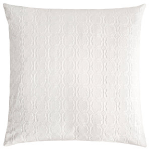 Kevin O'Brien Studio Starflower Ivory Euro Sham