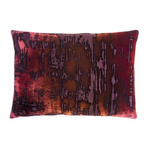 Kevin O'Brien Studio Brush Stroke Velvet Decorative Pillow