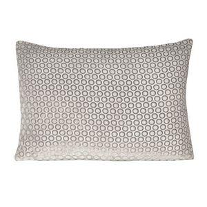 Kevin O'Brien Studio Dots Velvet White Dec Pillow