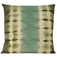 class=borcolor_C title=Kevin O'Brien Studio - Shibori Floor Pillow with linen bottom.