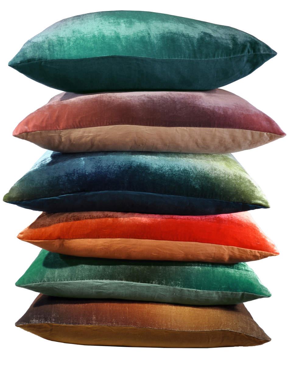 Discontinued Kevin OBrien Studio Ombre Gradients Velvet Dec Pillow