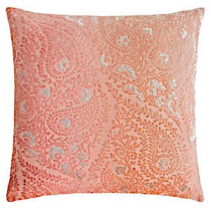 Kevin OBrien Studio Henna Velvet Decorative Pillows - Mango