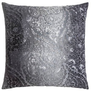 Kevin OBrien Studio Henna Velvet Decorative Pillows - Smoke