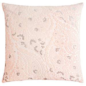 Kevin OBrien Studio Henna Velvet Decorative Pillows - Blush