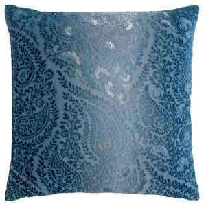 Kevin OBrien Studio Henna Velvet Decorative Pillows - Denim