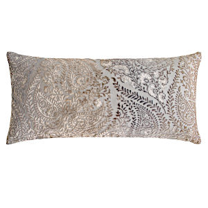 Kevin OBrien Studio Henna Velvet Decorative Pillows - Coyote (12x24)
