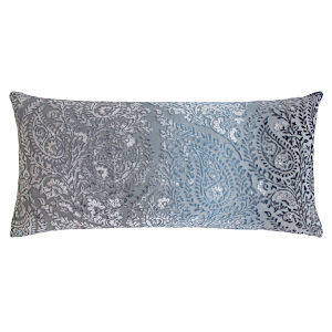 Kevin OBrien Studio Henna Velvet Decorative Pillows - Dusk (12X24)