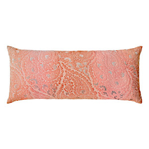 Kevin OBrien Studio Henna Velvet Decorative Pillows - Mango (16x36)