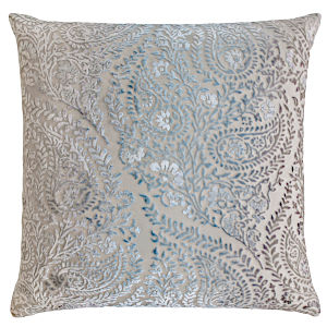 Kevin OBrien Studio Henna Velvet Decorative Pillows - Robbins Egg