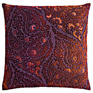 Kevin OBrien Studio Henna Velvet Decorative Pillows - Wildberry