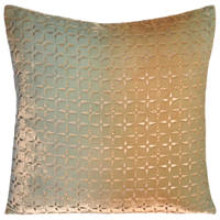 The Metallic Petal Flowers art work on these decorative pillows will stand out and enhance the decor of any room with a modern touch.