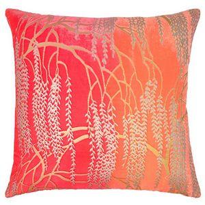 Kevin O'Brien Studio - Metallic Willow Velvet Dec Pillow - Fruit Punch